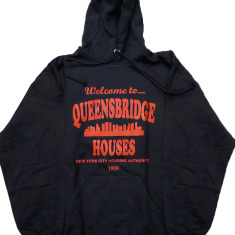 Welcome to Queensbridge Projects Cormega Tragedy Khadafi Hooded Sweatshirt Hoody (Black)