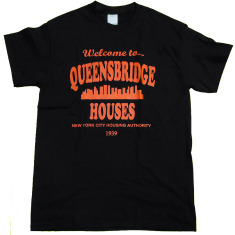 Welcome to Queensbridge Projects Shook Ones Illmatic shirt (Black)