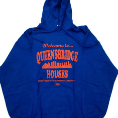 Welcome to Queensbridge Projects Mobb Deep the Infamous Nas illmatic Hooded Sweatshirt Hoody (Black)