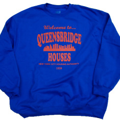 Queensbridge Projects Mobb Deep the Infamous Sweatshirt Royal Blue