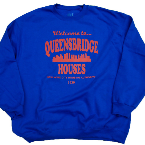 Queensbridge Projects Mobb Deep the Infamous Sweatshirt Royal Blue